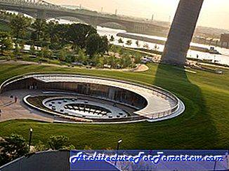 Architectuur Eero Saarinen's Gateway Arch Renovation Project bijna voltooid