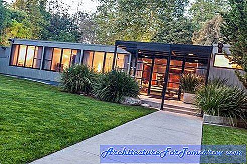 Architectuur Peek in Jerry Bruckheimer's Magnificent Home in de wijk Brentwood in Los Angeles