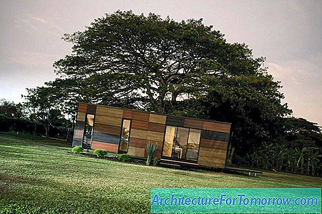 Tiny Modular Home in Colombia Zet de fun in functioneel