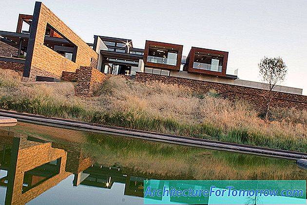 Arkitektur Mirroring Nature's Everlasting Beauty: House Boz i Sydafrika