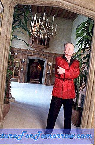 Decoreren In Hugh Hefner's Playboy Mansion in de loop der jaren