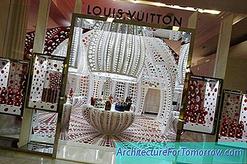 Polka Dot Patterns Definiera New Louis Vuitton Concept Store i London