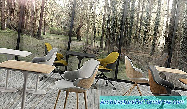 Sleek Armchair Design Made in France: Ciel!  door Noé Duchaufour-Lawrance