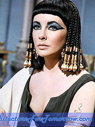 Set Designs of Cleopatra, Elizabeth Taylors Classic Movie
